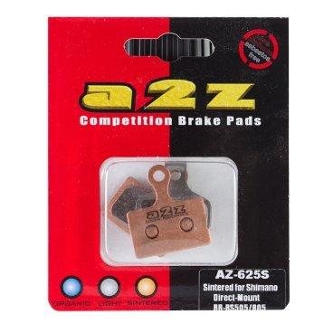 Тормозные колодки A2Z Super Shimano DM R9170/U5000/RS805/505/R405F/R405R/RS305R/, золотистый, AZ-625Тормоза на велосипед<br>A2Z - небольшой тайваньский завод по производству велосипедных запчастей, специализируется на выпуске высококачественных компонентов, легких втулок, тормозных дисков, титановых эксцентриков и других деталей.<br><br>    Превосходные тормозные свойства колодок уменьшают тормозной путь<br>    Высокоэффективный состав увеличивает мощность при любых погодных условиях<br>    Все тормозные колодки A2Z сделаны из органических соединений и не содержат асбеста<br><br>Виды тормозных колодок A2Z:<br>- Blue (organic) - высокоэффективные органические колодки, на 110%* выше мощность и на 150%* дольше срок службы<br>- Silver (organic) - высокоэффективные органические колодки на алюминиевой подложке, легче колодок Blue на 50%<br>- Gold (Sintered) - высокоэффективные метализированные колодки, служат на 300%* больше<br><br>*по сравнению со стоковыми колодками<br>