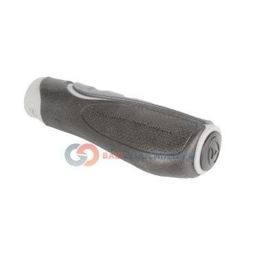 Ручки на руль для велосипеда Author AGR Ergo 2 118 8-33452010Ручки и Рога<br>резиновые, эргодизайн, двухкомпонентные+гель, 118мм, черно-серые, 182г/пара, блистер<br>