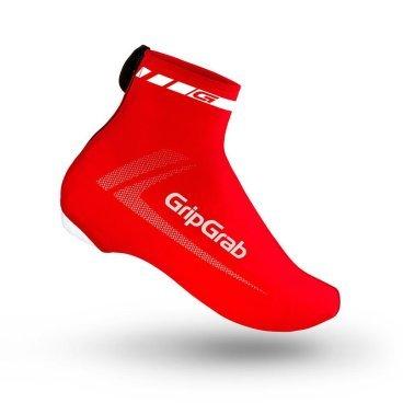 Велобахилы GripGrab RaceAero, полиамид/эластан, красныйВелообувь<br>RaceAero от GripGrab бахилы сделанные из качественного спандекса, обеспечивают максимальную аэродинамику и защищают вашу обувь от грязи и от проникновения камней. Яркий дизайн обеспечит хорошую видимость на дороге.<br><br>Особенности:<br>Эластичная лайкра<br>YKK® технология<br>Отверстие для контактных педалей <br><br>Уход <br>Машинная стирка с такими же цветами. Не отбеливать. Не сушить в стиральной машине. <br>Не гладить. Не подвергать химической чистке. Не отжимать. <br><br>Материалы <br>85% Полиамид<br>15% Эластан<br><br>Размеры: S (38-39), M (40-41), L (42-43), XL (44-45), 2XL (46-47), 3XL (48-49)<br>