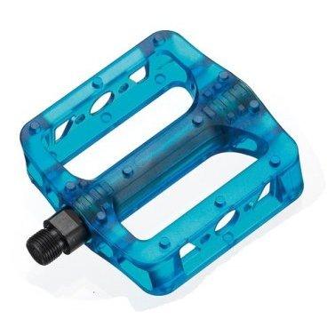 Педали Giyo GM-02, широкие, пластик, 9/16, стальная ось, 346 г, 6-104 педали велосипедные алюминиевые литые широкие резьба 9 16 черные 5 311348
