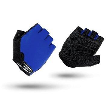 Велоперчатки детские короткие GripGrab X-trainer Jr., синий детские велоперчатки 500