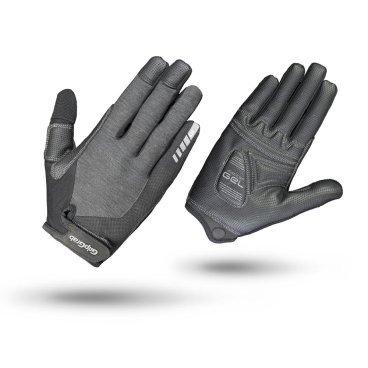 Велоперчатки женские GripGrab ProGel Full Finger, гелевые накладки, удаление пота, лайкра, серыйВелоперчатки<br>Велоперчатки GripGrab Long ProGel разработаны специально для женщин, обеспечивают высокий комфорт, сцепление или стиль. Выполнены из легкого и эластичного материала. Они дают максимальную свободу движения, а благодаря технологии DoctorGel 4 мм обеспечивают отличное сцепление. Дополнительная функция удаления пота. Светоотражающий логотип для безопасности в условиях низкой освещенности. Благодаря технологии gMagnets вы не потеряете одну перчатку.<br><br>Особенности<br>Технология DoctorGel 4 мм<br>Функция удаления пота<br>Grippy Serino ладони<br>Эластичная лайкра на верхней стороне<br>Технология gMagnets - легко хранить перчатки парой<br>Светоотражающий логотип<br><br><br>Уход<br>Машинная стирка с такими же цветами. Не отбеливать. Не сушить в стиральной машине. <br>Не гладить. Не подвергать химической чистке. Не отжимать. <br><br>Материалы<br>40% Полиэстер <br>30% Полиамид<br>20% Полиуретан<br>10% Эластан<br><br>Размер перчаток  XS, S, M, L<br>