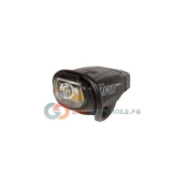 Фара передняя AUTHOR 1 диод/3 функции NERO Micro USB-заряд.+кабель черная 8-12002253 от vamvelosiped.ru