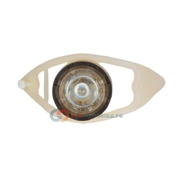 Фонарь AUTHOR задний 1 диод повышенной яркости A-BULB R белый с батареями 8-12039155