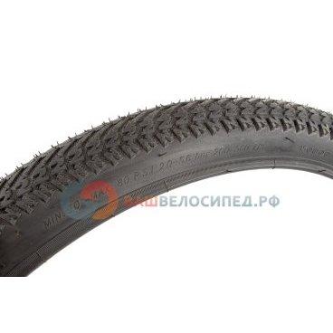 Покрышка велосипедная 24х2.125 черная, PQ 826 24*2.125 black