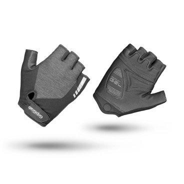 Велоперчатки женские короткие GripGrab ProGel, гелевые вставки, удаление пота, лайкра, серыйВелоперчатки<br>Велоперчатки GripGrab Short ProGel являются одними из самых удобных перчаток для женщин. Обеспечивают высокий комфорт, сцепление или стиль. Выполнены из легкого и эластичного материала. Они дают максимальную свободу движения, а благодаря технологии DoctorGel 4 мм обеспечивают отличное сцепление. Дополнительная функция удаления пота. Светоотражающий логотип для безопасности в условиях низкой освещенности. Благодаря технологии gMagnets вы не потеряете одну перчатку.<br><br>Особенности<br>Технология DoctorGel 4 мм<br>Функция удаления пота<br>Система снятия Pull-off<br>Grippy Serino ладони<br>Эластичная лайкра на верхней стороне<br>Технология gMagnets - легко хранить перчатки парой<br>Светоотражающий логотип<br><br><br>Размер перчаток XS, S, M, L <br><br>Уход<br>Машинная стирка с такими же цветами. Не отбеливать. Не сушить в стиральной машине. <br>Не гладить. Не подвергать химической чистке. Не отжимать. <br><br>Материалы<br>40% Полиэстер <br>30% Полиамид<br>20% Полиуретан<br>10% Эластан<br>