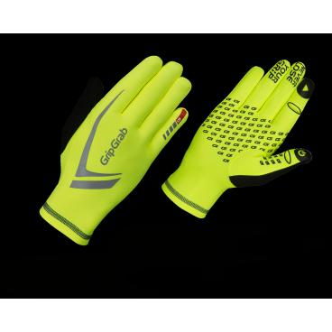 Велоперчатки зимние GripGrab Running Expert Hi-Vis, воздухонепроницаеморсть, желтыйВелоперчатки<br>Высокотехнологичные перчатки GripGrab Running Expert обеспечивают высокую теплоизоляцию с превосходной воздухопроницаемостью. Больше нет необходимости снимать перчатки что бы воспользоваться смартфоном, перчатки отлично работают с сенсорными дисплеями. Яркий дизайн увеличивает безопасность на дорогах общего пользования, идеально для города и городских окрестностей.<br><br>    Комфортная зона от -5 °C до +5 °C<br>    Высокая воздухопроницаемость<br>    Силиконовые вставки<br>    Светоотражающие логотипы<br>    Работают с сенсорными экранами <br><br>Размер XS, S, M, L, XL. XXL<br><br>Уход<br>Машинная стирка с вещами такого же цвета. Не использовать отбеливатель. Не сушить в стиральной машине. Не отжимать. Не применять химчистку. Не гладить.<br>