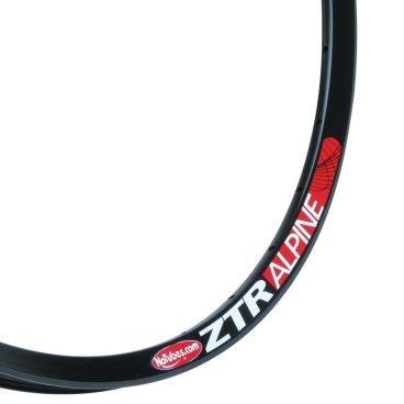 Обод 26 Stans NoTubes ZTR Alpine, 32H, черный, RWAL60001Обода<br>Легче чем модель на которой построен этот обод, ZTR Olympic. Также использует последнюю разработку BST. Широкая внутренняя поверхность обода и низкие боковые стенки улучшают характеристики покрышки при том же давлении.<br> <br>Размер: 26 x 23.2mm<br>Цвет: Black<br>Кол-во спиц: 32<br>Тормоза: Disc<br>Вес: 330г<br>ISO: 559 x 20<br>ERD: 537<br>Желтая лента: 21мм<br>