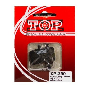 Тормозные колодки X-Top Avid Juicy Ultimate/Juicy 7/Juicy carbon/Juicy 5/BB7/Promax DSK-905, XP-290 велосипедные тормоза bb 7 avid bb7 mtb 1