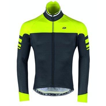 Велокуртка GSG Isoard Winter Jacket, неоновый желтый, 10102-06Велокуртка<br>Биластическая зимняя куртка, как легко переносит ветер, так и водонепроницаемая.<br>Этот тип материала предоставит вам свободу передвижения.<br>Внутренняя часть куртки предназначена для обеспечения лучшей воздухопроницаемости.<br>Есть 3 кармана, плюс застежка-молния с отверстием для наушников.<br>На внешней стороне есть также отражающий патч, чтобы обеспечить лучшую безопасность для велосипедиста.<br>Передняя молния имеет автоматический съемник для облегчения открытия и закрытия.<br><br> Это термо куртка. Верх модели выполнен из непродуваемого и непромокаемого эластичного текстиля, а внутренняя часть – из дышащего материала, который эффективно отводит влагу от тела.<br><br><br>ТКАНИ: WINDOFF MAX<br><br>ВЕС: 484гр<br>ВОДНЫЕ КОЛОНКИ:&gt; 10.000 мм<br>ТЕМПЕРАТУРА: -5 ° / + 7 °<br>