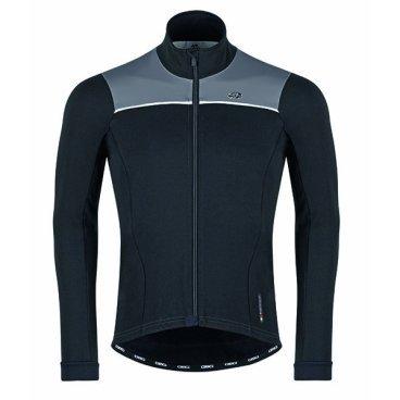 Велокуртка GSG Tourmalet Light Winter Jacket, черно-серый, 10088-02