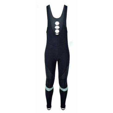 Велорейтузы GSG Sestriere Bibtight, черный, 07171-03