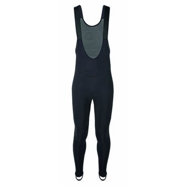 Велорейтузы GSG Ventoux Windproof Bibtight, черный, 07196-03