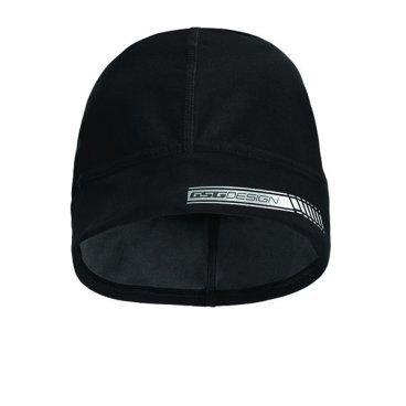 Велошапка зимняя GSG Winter Cap Roubaix, черный, 12133-03