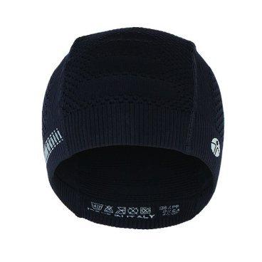 Велошапка подшлемная GSG Underhelmet Seamless Cap, черный, 12166-03