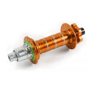 Втулка задняя для фэтбайка, Hope PRO 4 Fatsno Rear, 32H, 12x197мм XD, ОРАНЖЕВАЯ, RHP432C19712TXDВтулки для велосипеда<br>Втулка задняя оранжевая Hope PRO 4 Fatsno Rear<br>Характеристики: <br>Количество отверстий: 32H<br>Ось 12x197мм XD <br>Вес 367 грамм<br>Цвет оранжевый<br>Артикул RHP432C19712TXD<br>В барабане 4 собачки и 44 зуба в храповом механизме<br><br>Hope Pro 4 Fatsno Rear Hub - Disc - 12x197mm. Преемник топселлера Pro 2 Evo и еще более оптимизирован.<br>Pro 4 получили переработанный копрус с более крупными фланцами, чтобы следовать тенденции к большим колесам. С более высокими фланцами вы получите более сильное и жесткое колесо по сравнению с Pro Evo. Новая задняя втулка также оснащена более мощным храповым механизмом с 44 зубцами на 10% быстрее по сравнению с Pro Evo.<br>Конечно, каждый Pro 4 можно легко преобразовать для установки с другими осями, все комплекты преобразования Pro 2 Evo совместимы с Pro 4.<br>Hope Pro 4 Fatsno 197 мм - высококачественная и изящно сконструированная задняя втулка, сделанная из алюминия 2014 T6. <br>Pro 4 включает в себя дальнейшее развитие проверенного храпового механизма Hope - это корпус ротора из цельного куска алюминиевого сплава и держателем собачек. Четыре собачки входят в зубчатый стальной храповой механизм на 44 зубца, закрепленный в корпусе втулки, и закрытый сальником свободным от касания и следовательно трения о подвижные детали. Совместимость с различными рамами и вилками обеспечивается с помощью нескольких наборов адаптеров. <br>Увеличенный диаметр фланцев разпределяет отверстия под спицы дальше друг от друга. Это позволяет использовать более короткие спицы для создания более надёжного, более жесткого и прочного колеса. Они работают на подшипниках из нержавеющей стали, что обеспечивает больший срок службы, большую плавность и накат и большую ценность за свои деньги. Корпус ступицы выполнен на ЧПУ и анодирован. Совместима со всеми тормозными дисками под крепление ISO на 6 отверстий. Вес 367 грамм.<br>