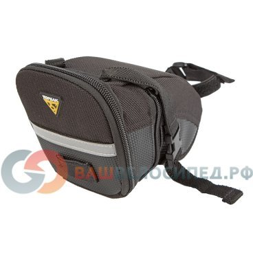 Подседельная велосумка TOPEAK Aero Wedge Pack w/strap mount MEDIUM TC2261B