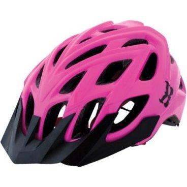 Велошлем KALI Chakra Helmet, черно-розовый