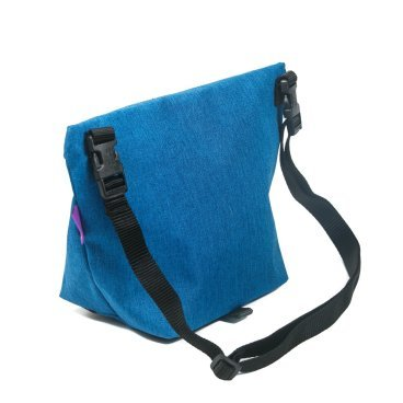 Велосумка на плечо ВелоХорошо Музетта, синий, 20х30см, 1-4л, MS01