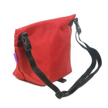 Велосумка на плечо ВелоХорошо Музетта, 1-4л, 20х30см, красный, MS04