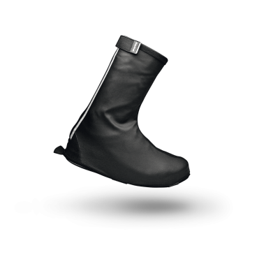 Велобахилы GripGrab DryFoot, черные.Велообувь<br>Велобахилы GripGrab DryFoot, черные.<br>Описание:<br> Бахилы изготовлены из ветро-и водонепроницаемого материала и, благодаря продуманной выкройке, защищают не только обувь, но и наиболее страдающую часть штанов. Подошва усилена кевларом, что значительно продлевает жизнь ваших любимых бахил. А благодаря эргономичному чехлу который поставляется в комплекте, хранение ваших бахил не доставит вам никаких хлопот. <br>Температурный режим: от 0°C и выше.<br><br>Особенности:<br>Совместимы с любыми ботинками<br>Водонепроницаемые<br>Защита от ветра<br>Светоотражающие полоски<br>Усиленная молния YKK<br>Регулируемая манжета<br>Чехол для хранения в комплекте<br>Размеры: L (42-43), XL (44-45), ХXL (46-47), ХХXL (48-49)<br><br>Уход: <br>Не стирать, используйте только влажную тряпку для очистки. Не использовать отбеливатель. Не сушить в стиральной машине. Не гладить. Не подвергать химической чистке. Не отжимать. <br><br>Материалы<br>100% полиэстер<br>