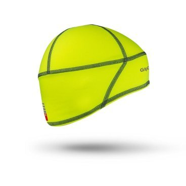 Шапка GripGrab Skull Cap Hi-Vis, флуор.желтый, M, 501208205, арт: 32955 - Бандана