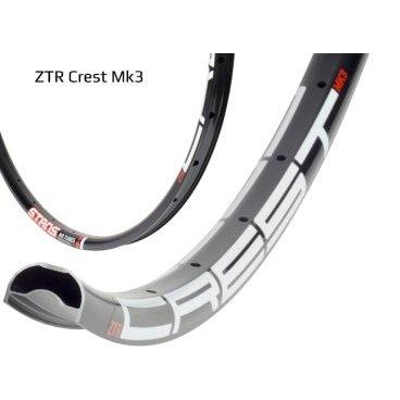 Обод 29 Stans NoTubes ZTR Flow MK3 32H черный, наклейка белый/красный 485C