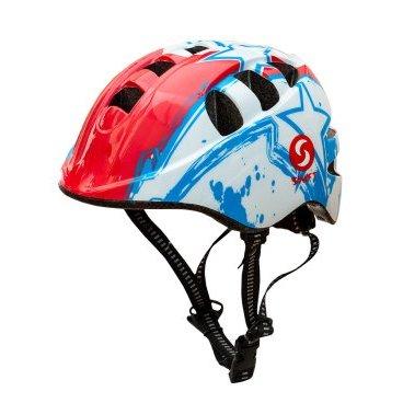 Велошлем детский SwiftBike, Белый, 48-52см. реплика шлема mich2000 олива