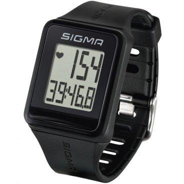 Пульсометр Sigma Sport iD.GO черный, 24500