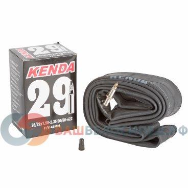 Камера KENDA 29, 1.9-2.35 (50/58-622), спортивный ниппель 48 мм,  5-511493Камеры для велосипеда<br>NEW, 28-29х1,9-2,35 (50/58-622), ниппель спортивный 48мм, высокоэластичная бутиловая резина, инд. уп.<br>