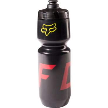 Фляга для воды Fox 26 Moth Bottle Black/Yellow (18504-019-OS) цена 2017