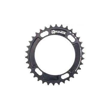 Звезда Rotor Chainring Q BCD110X4 Shimano Inner Black 36t (C01-020-25010-0)