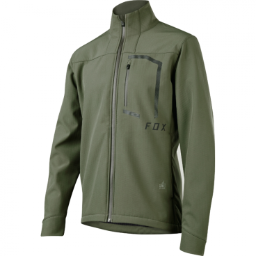 Велокуртка Fox Attack Fire Softshell Jacket Dark Fatigue