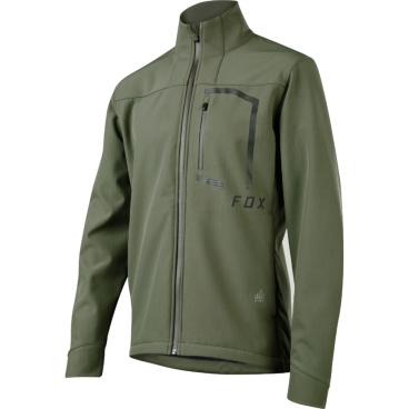 Велокуртка Fox Attack Fire Softshell Jacket Dark Fatigue недорго, оригинальная цена