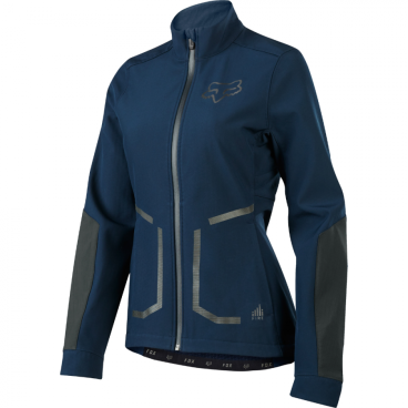 Велокуртка женская Fox Attack Fire Softshell Womens Jacket Navy