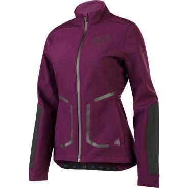 Велокуртка женская Fox Attack Fire Softshell Womens Jacket Plum, арт: 33381 - Велокуртка