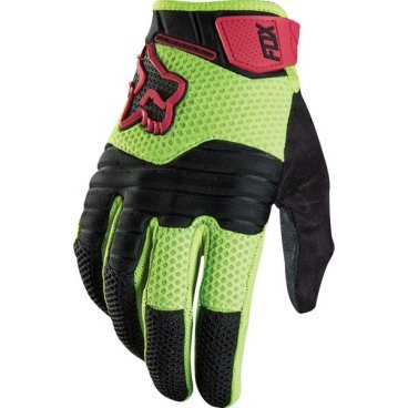где купить Велоперчатки Fox Sidewinder Glove желтые дешево