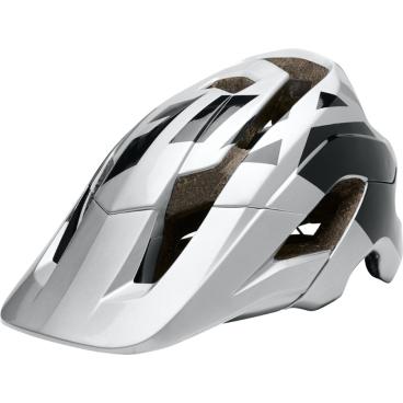 Велошлем Fox Metah Thresh Helmet серебристо-черный
