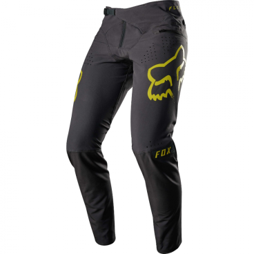 Велоштаны Fox Flexair Pant черно-желтые от vamvelosiped.ru