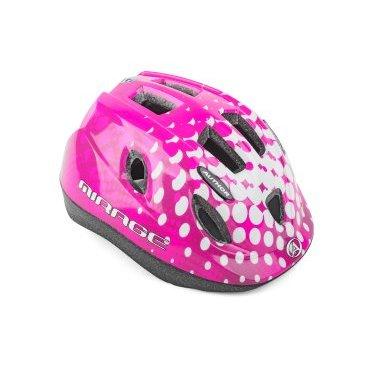 Шлем детский AUTHOR Mirage 165Pnk INMOLD, 12 отверстий, розовый, 52-56см, 8-9089962 шлем author mirage детский подростковый 121 red fish inmold 11 отверстий 48 54см 8 9089951