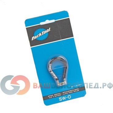 Ниппельный ключ велосипедный PARK TOOL SW-0, 3.23мм, черный, PTLSW-0