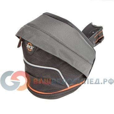 все цены на Подсумок велосипедный SKS-10364 Race Bag подседельный 2 отделения р-р XL черный  0-10364
