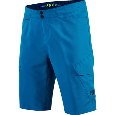 Велошорты Fox Ranger Cargo Short Heather Синий, Размер: W30 (19030-522-30)Велошорты<br><br>