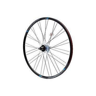 Колесо велосипедное переднее Merida Comp, 22 Disc, 700C, 32H, 15mm Axle, h=22мм, 3030005817Колеса для велосипеда<br>Колёсо передне Merida Comp 22 Disc 700C 32H 15mm Axle<br>h=22мм <br>черно-cиний<br>