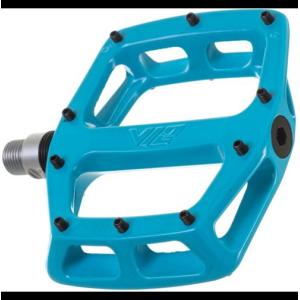 Педали велосипедные DMR V-12, алюминий, синий, DMR-V12-B9