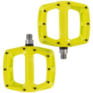 Педали велосипедные DMR V-12, алюминий, желтый, DMR-V12-LL педали велосипедные алюминиевые литые широкие резьба 9 16 черные 5 311348