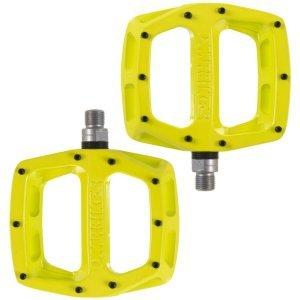Педали велосипедные DMR V-12, алюминий, желтый, DMR-V12-LL