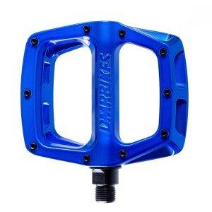 Педали велосипедные DMR V-8 Deep, синий, алюминий, DMR-V8-B