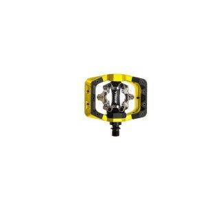 Педали велосипедные DMR V-Twin, алюминий, контактные, желтый, DMR-VTWIN-LL used n2qayb000128 remote control for panasonic dvd blu ray disc player dmr ex77 dmr ex78 dmr ex88
