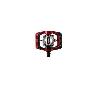 цены Педали велосипедные DMR V-Twin, контактные, алюминий, красный, DMR-VTWIN-R